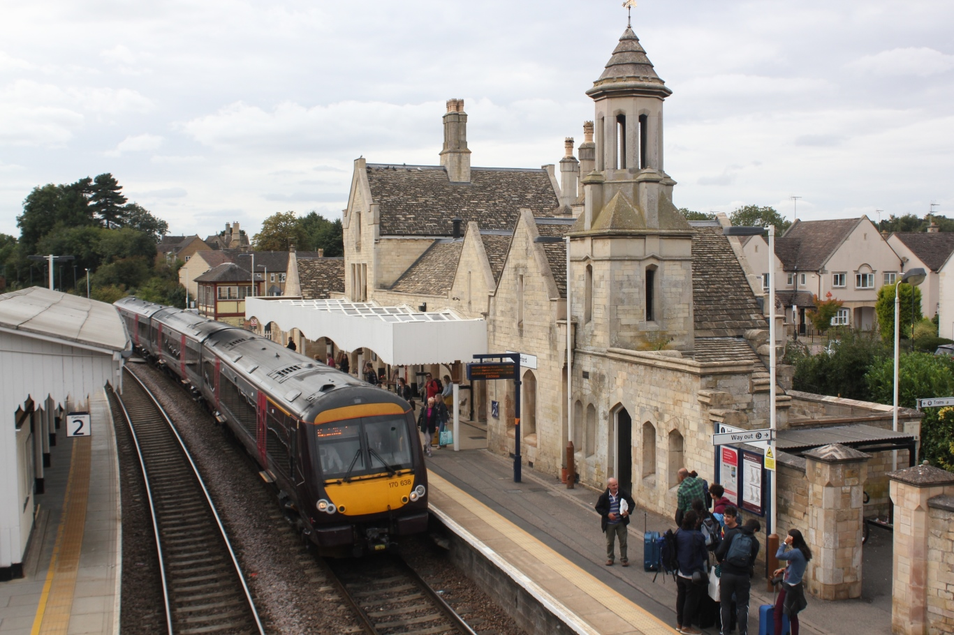 stamford railway station - wikipedia
