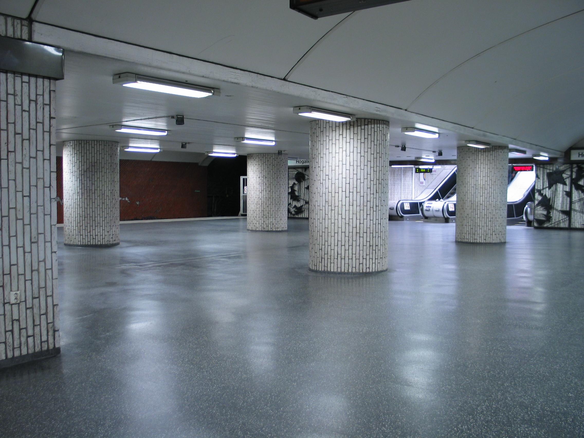 Hornstull tunnelbanestasjon