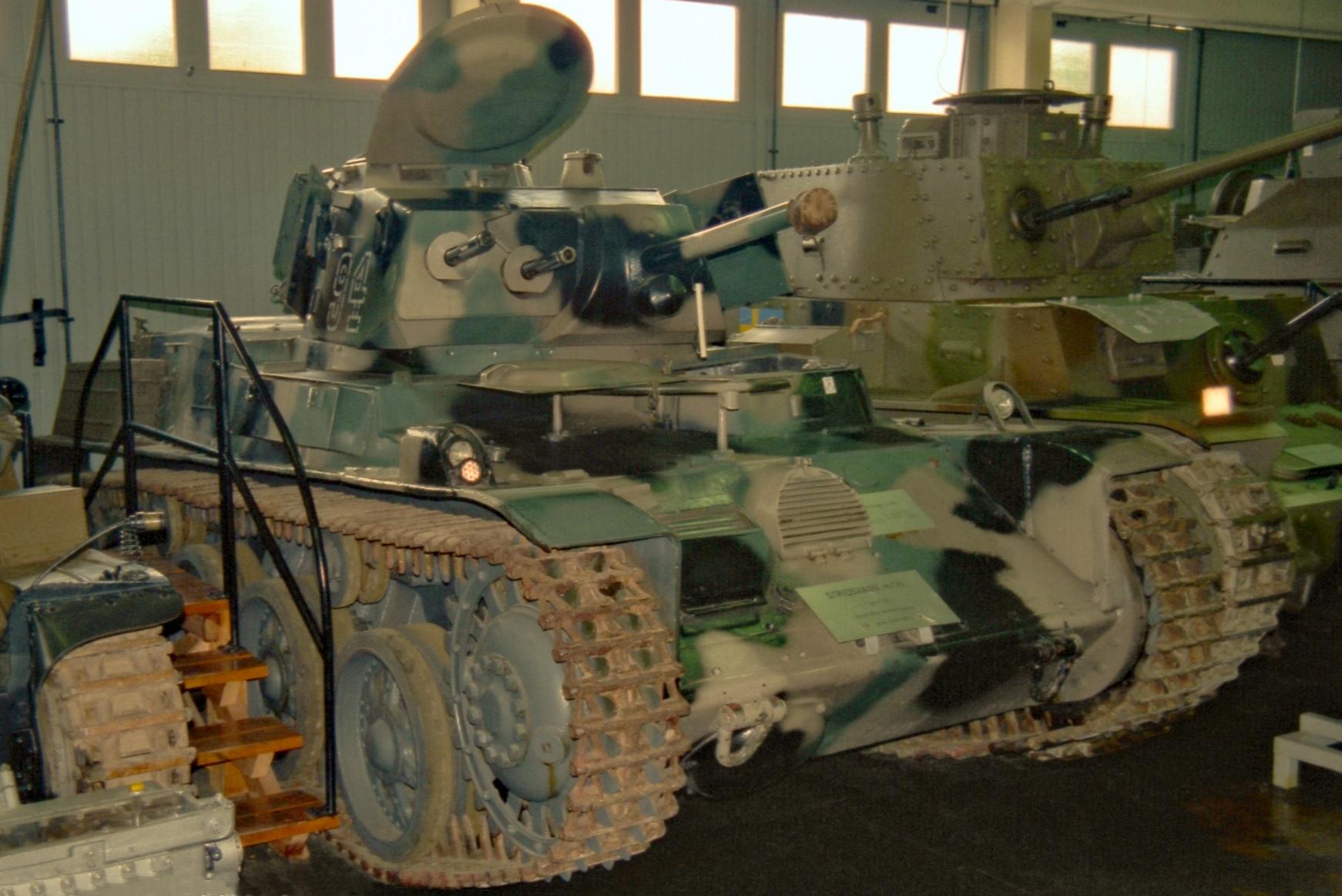 L-60 Strv m/39 в запасниках музея Arsenalen