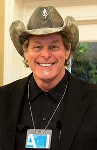 Nugent at the White House in April 2017