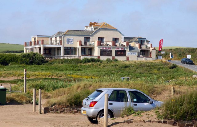 The Beach House Hotel in Widemouth Bay - geograph.org.uk - 1460052