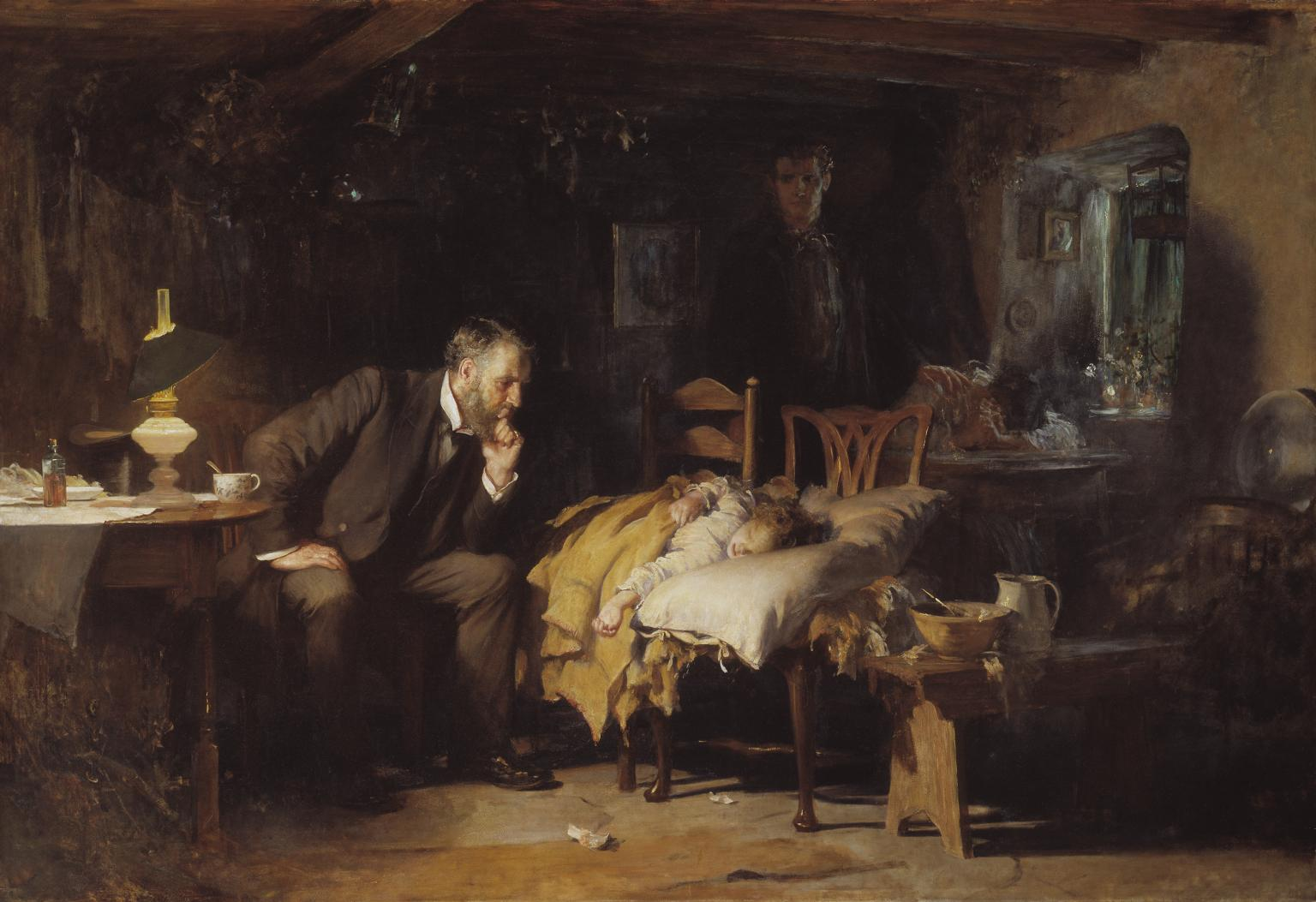 Amazing File The Doctor Luke Fildes Crop Wikimedia Commons Download Free Architecture Designs Embacsunscenecom