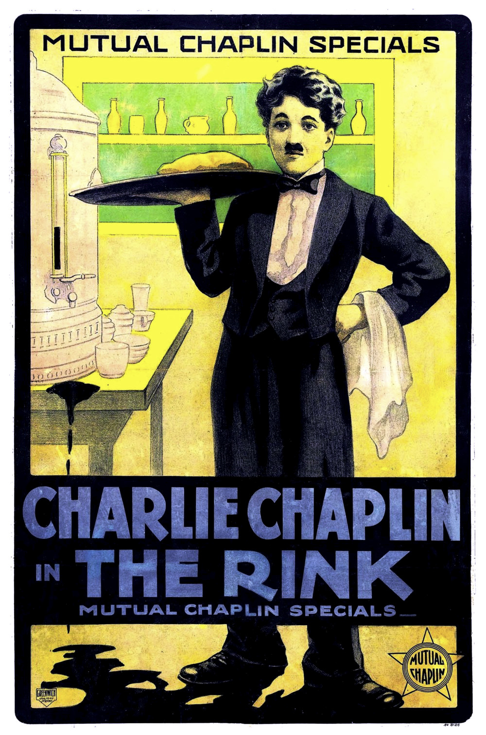 Charlie Chaplin in THE RINK