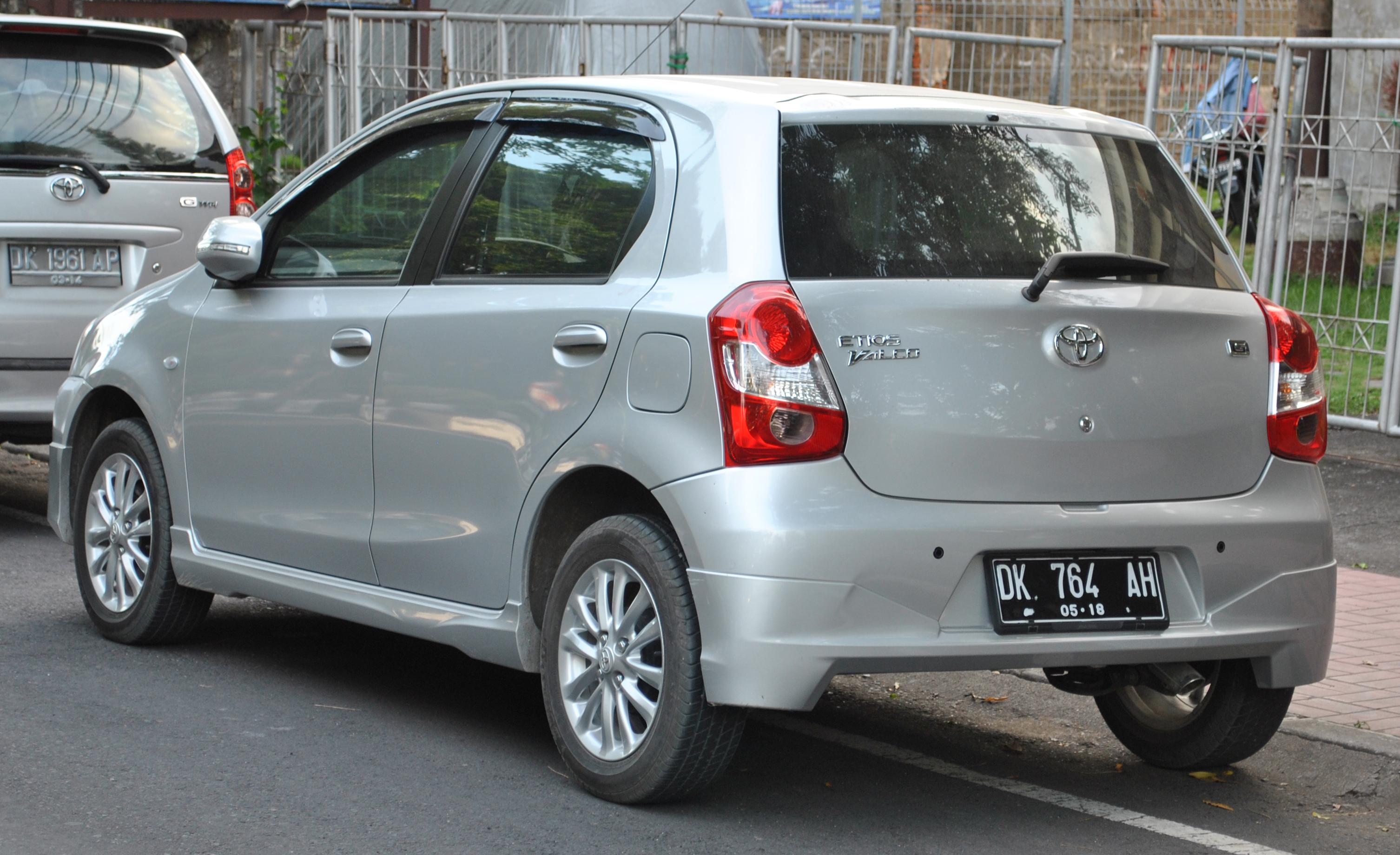File:Toyota Etios Valco aka Etios Liva (rear).JPG ...