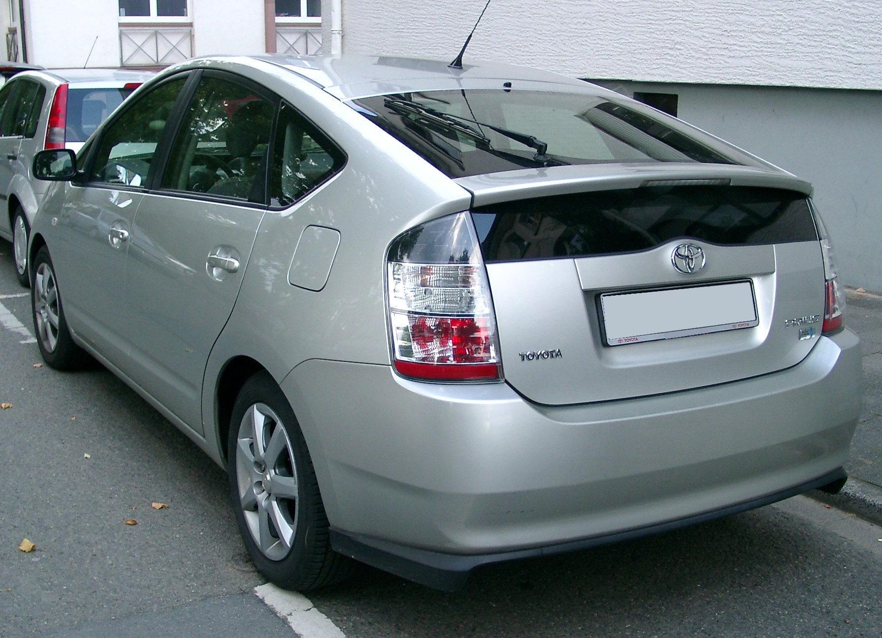 file toyota prius rear wikimedia commons. Black Bedroom Furniture Sets. Home Design Ideas