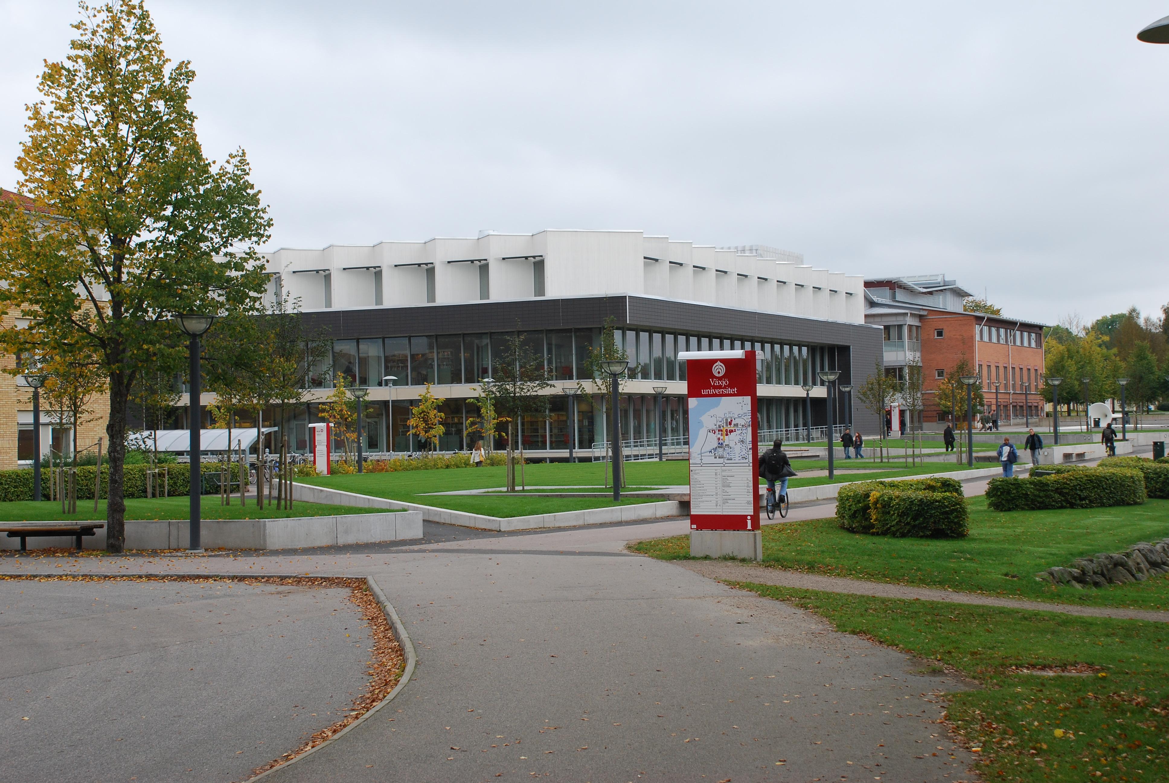 کتابخانه دانشگاه لینوس در سوئد