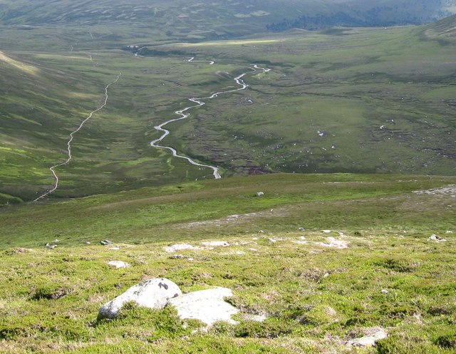 Upper Glen Quoich - geograph.org.uk - 207068