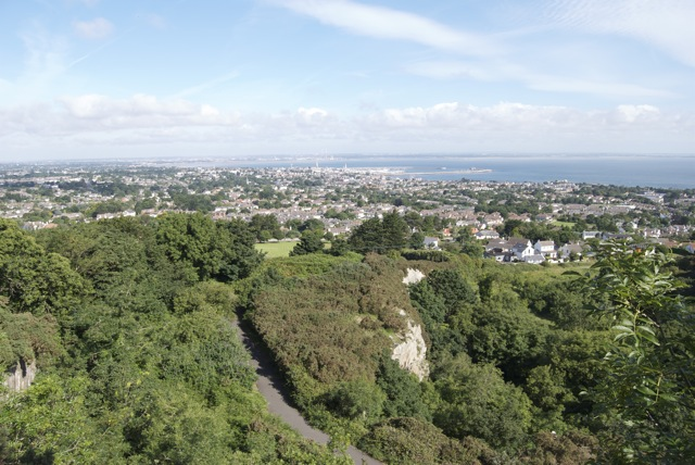 View of Dalkey from Killiney Hill - panoramio