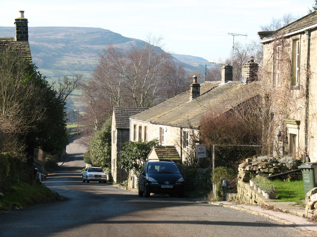 Village street, Appletreewick - geograph.org.uk - 687169