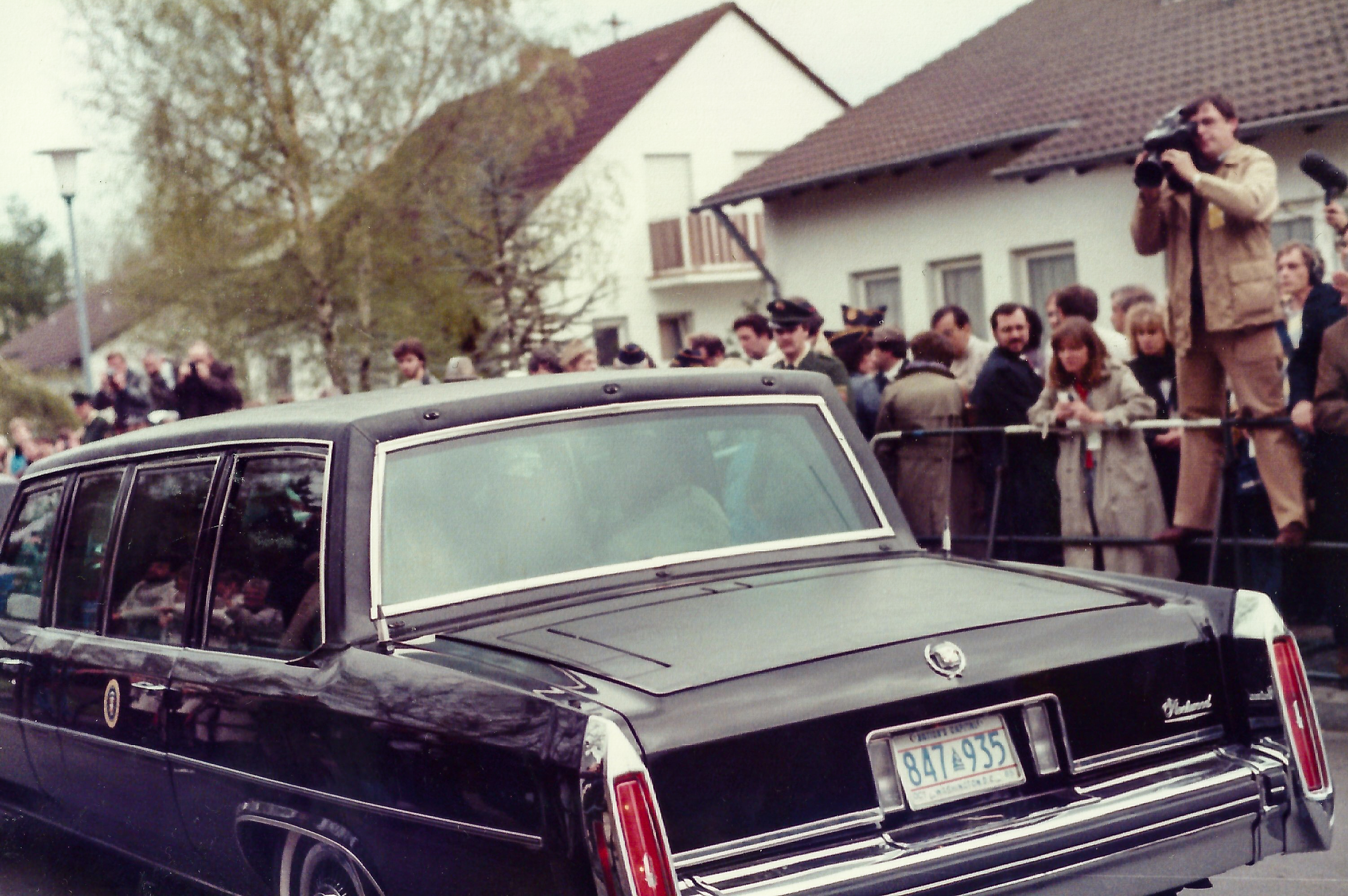File:Visit by U.S. President Ronald Reagan to Bitburg military ...