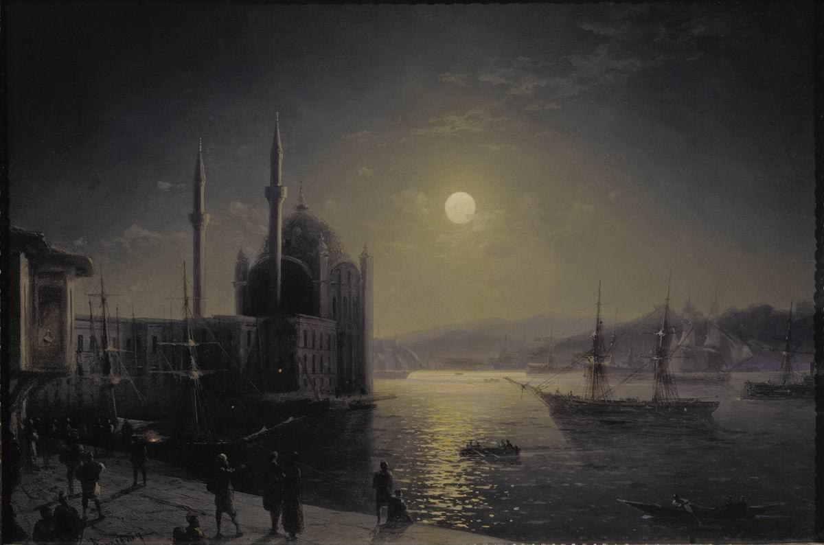 Image result for aivazovsky istanbul