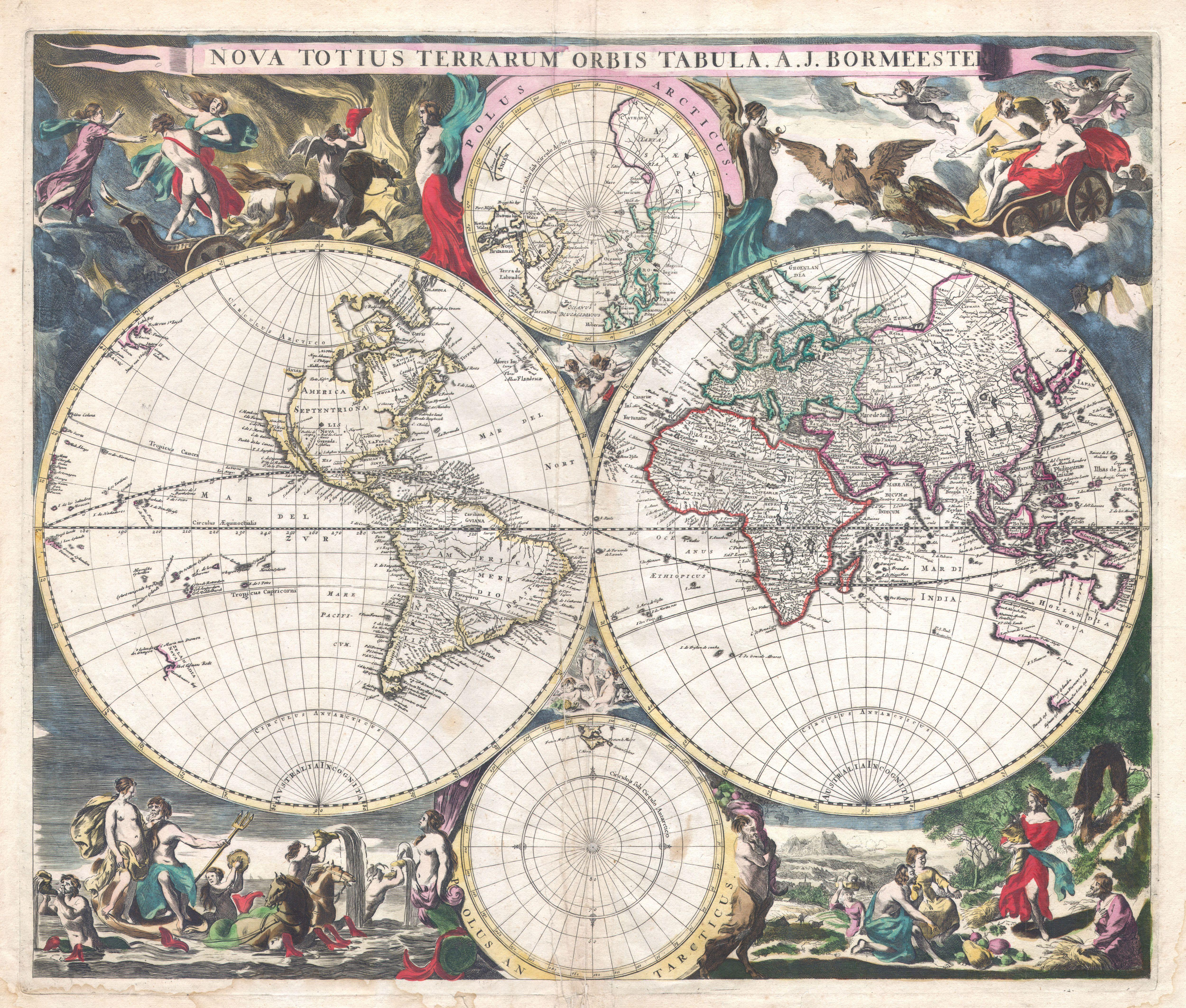 File:1685 Bormeester Map of the World - Geographicus -  TerrarumOrbis-bormeester-1685