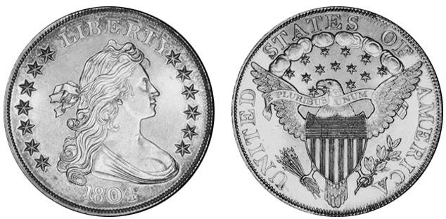 File 1804 Silver Dollar Class Ii Us Mint Specimen Jpg