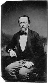 storm in den 1860er jahren ferrotypie mglicherweise von ferdinand tellgmann - Theodor Storm Lebenslauf