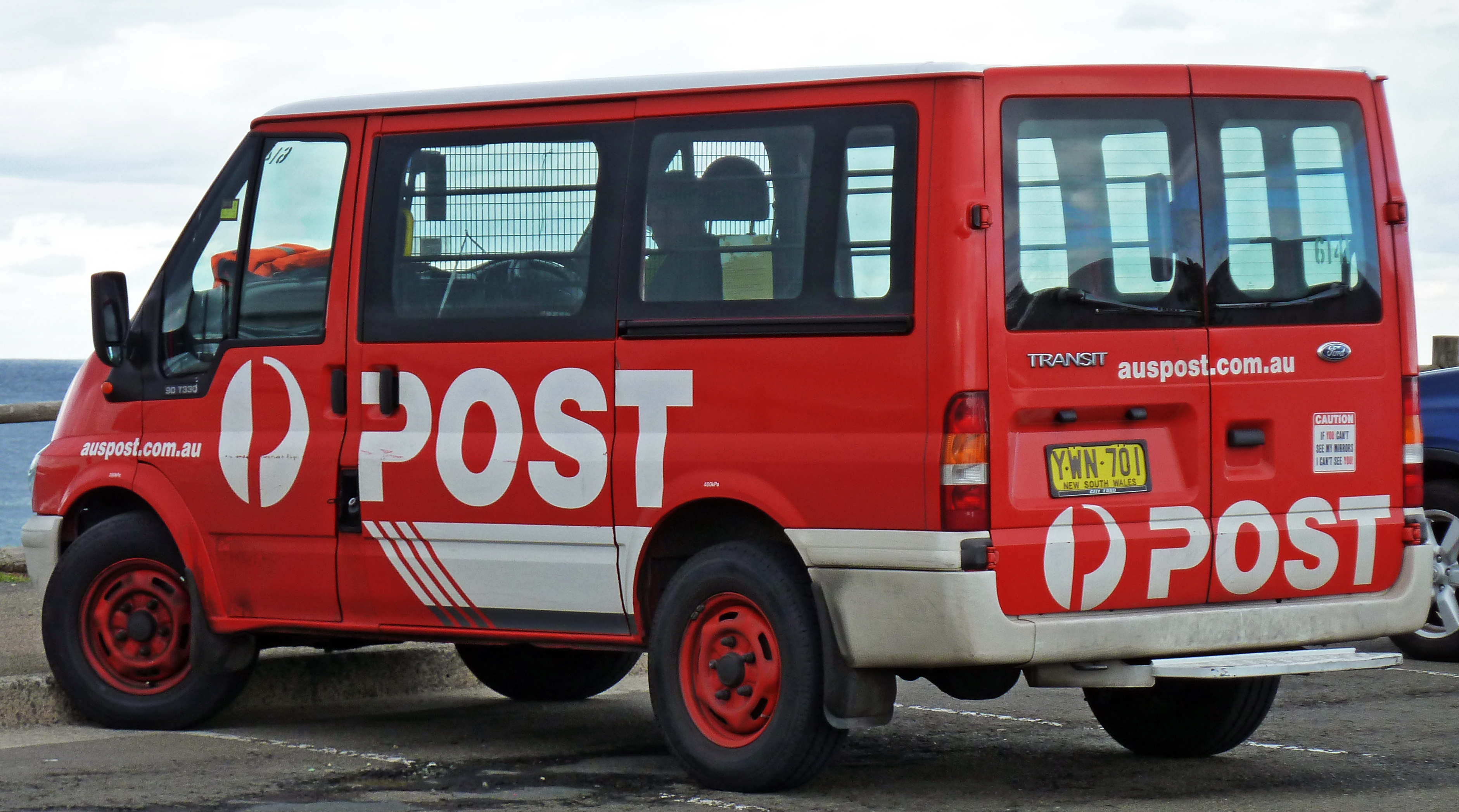 Australia Post delivery van