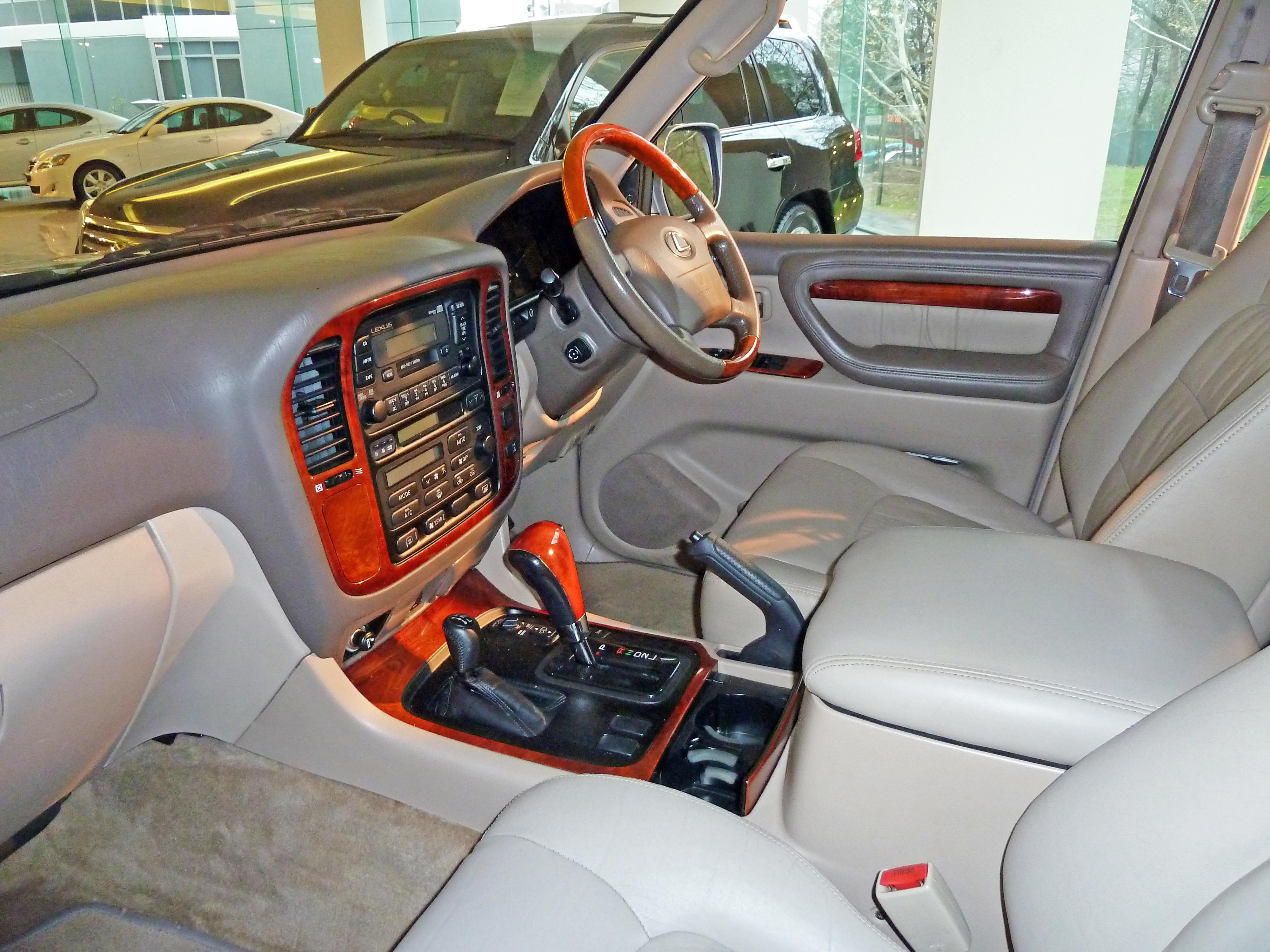 File:2000 Lexus LX 470 (UZJ100R) wagon (2010-07-13) jpg - Wikimedia