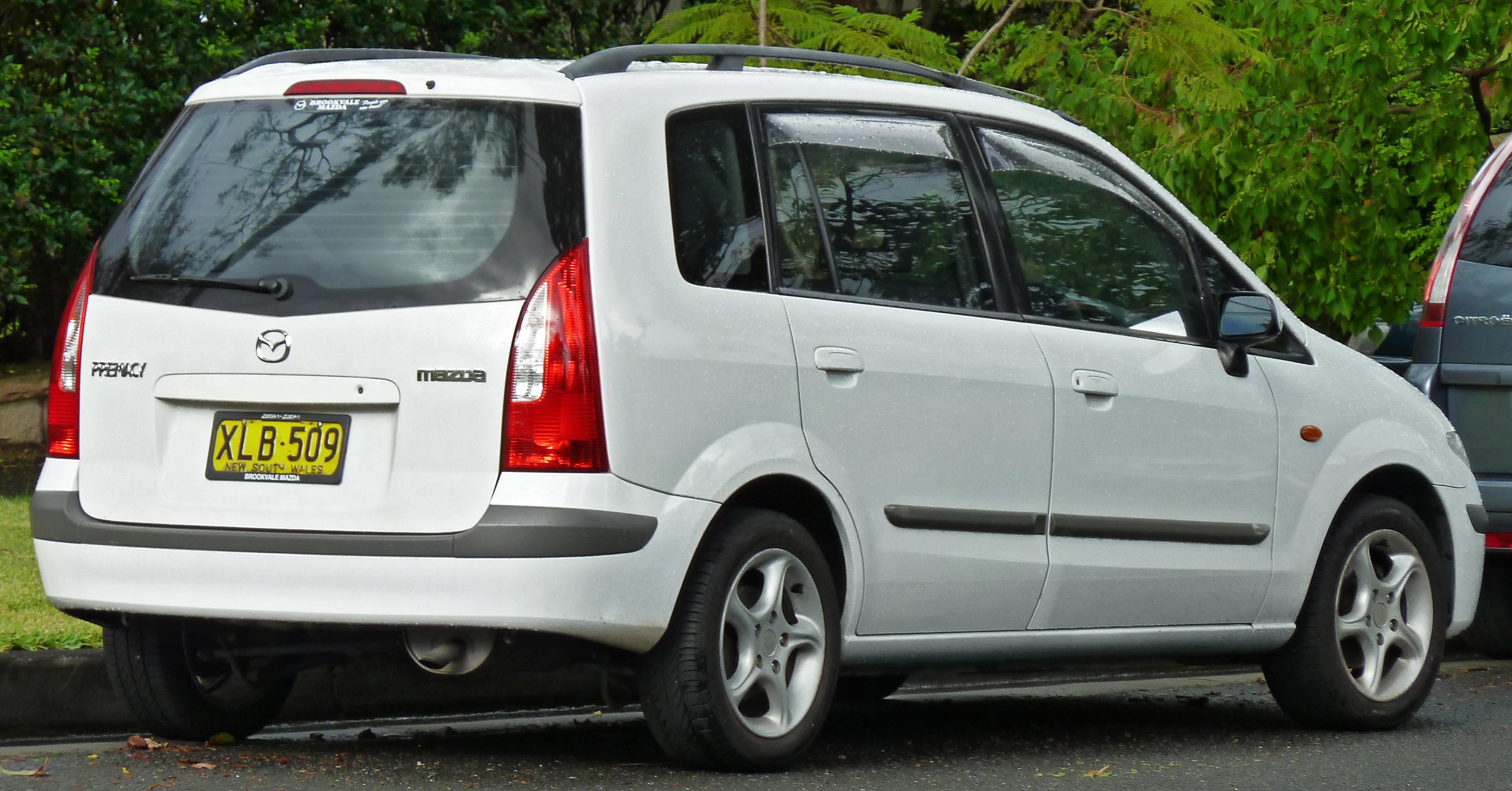 File Mazda Premacy CP Hatchback Jpg - Mazda premacy problems
