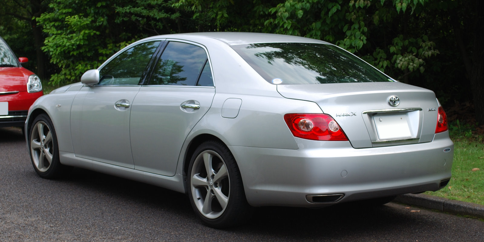 File 2004 Toyota Mark X 02 Jpg Wikimedia Commons