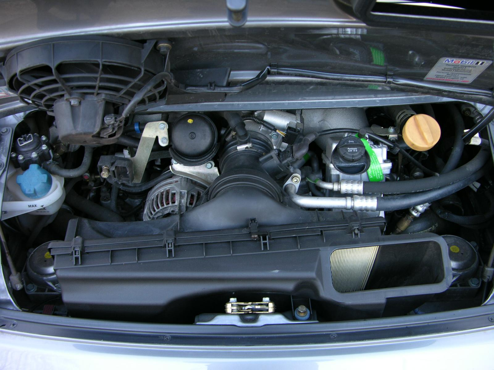 File 2005 Porsche 996 Gt3 Engine Bay Jpg Wikimedia Commons