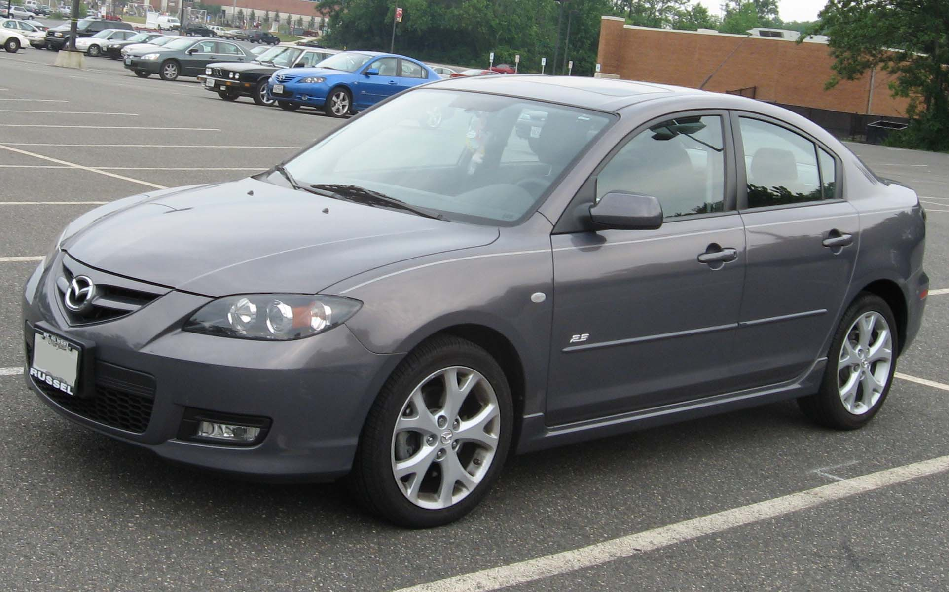 File 2007 Mazda3 Sedan Jpg Wikimedia Commons