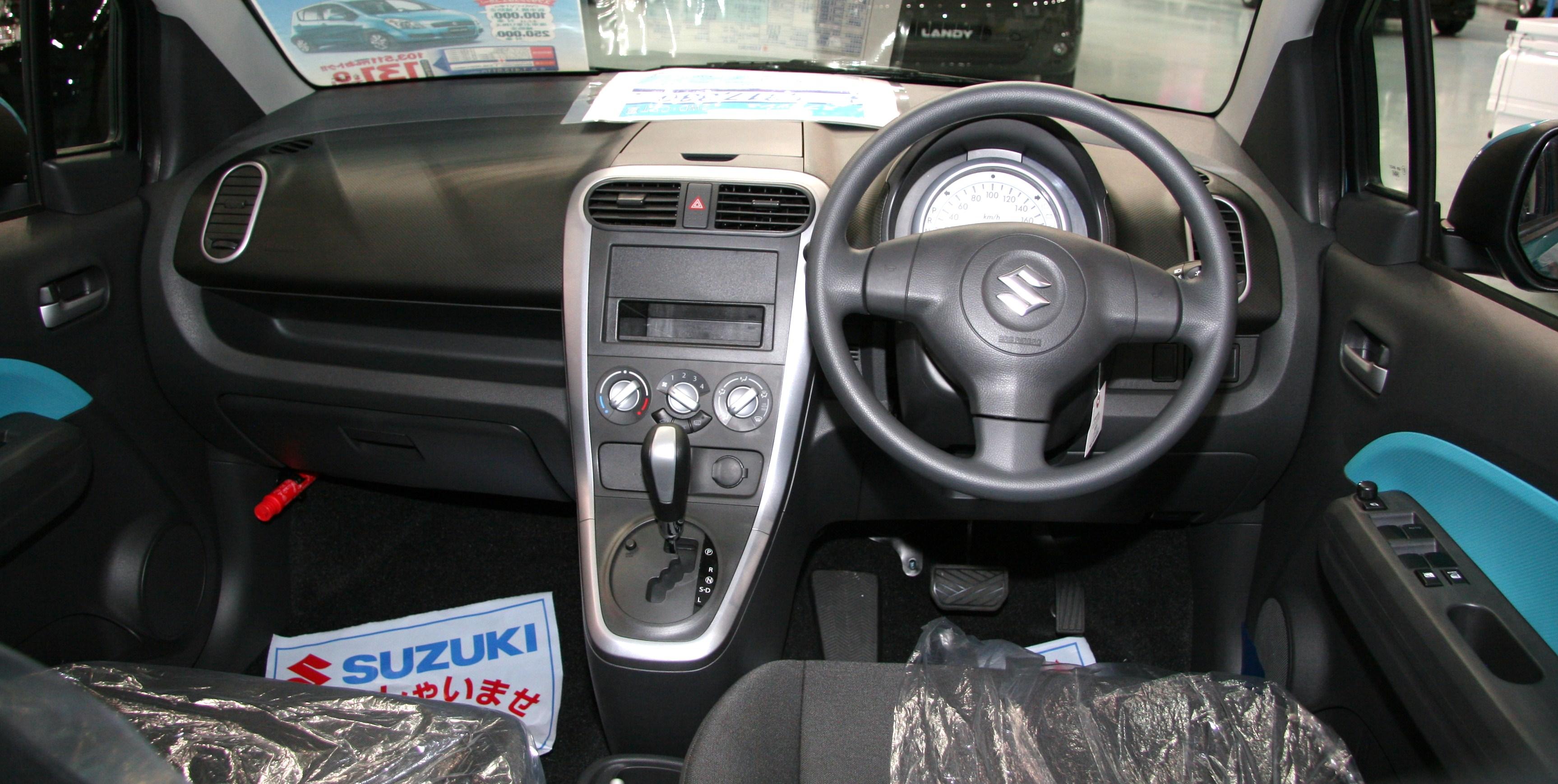 File 2010 Suzuki Splash Interior Jpg
