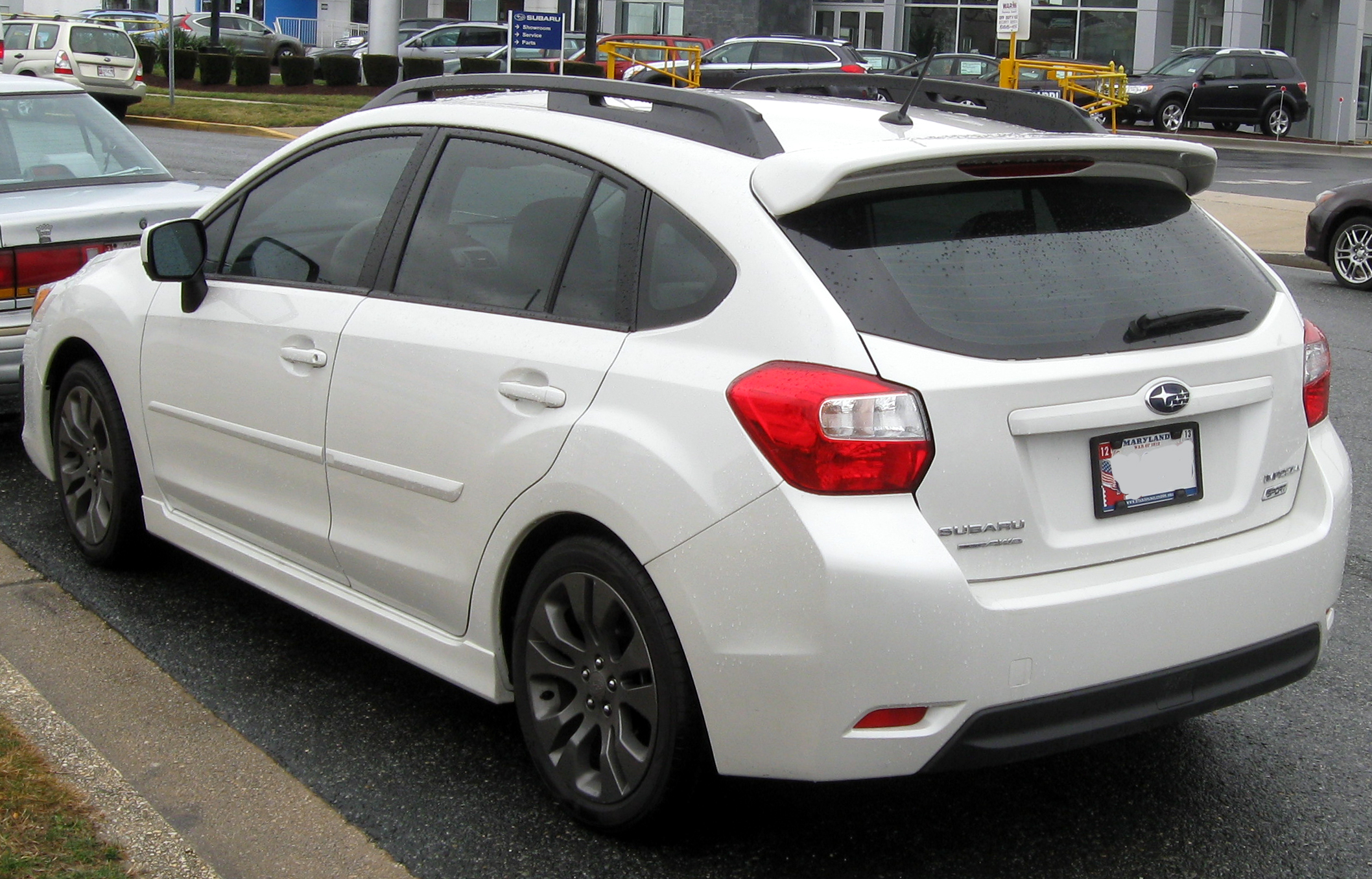 2012 Subaru Impreza Sport