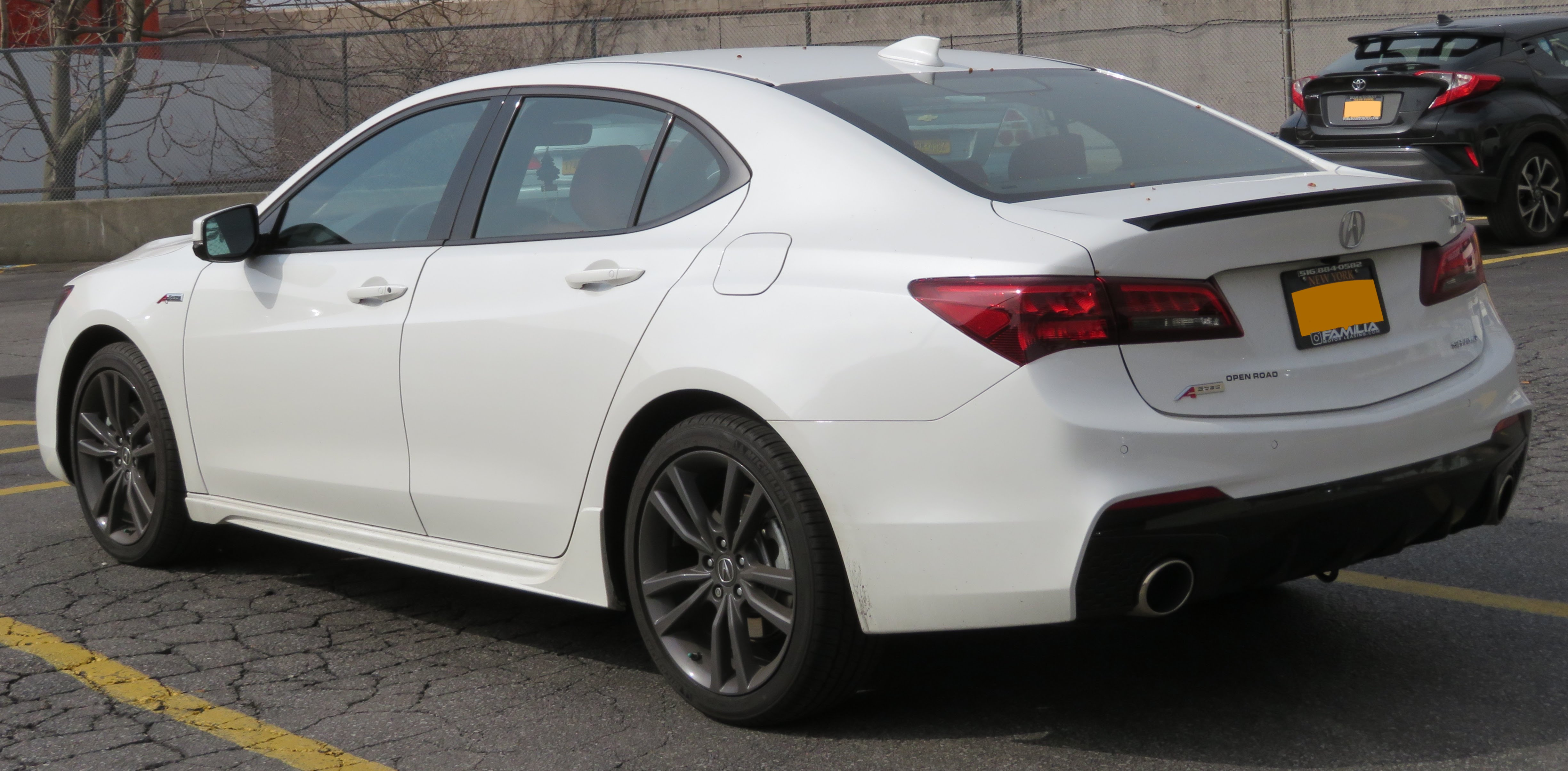File 2018 Acura Tlx A Spec Sh Awd Rear 4 27 18 Jpg Wikimedia Commons