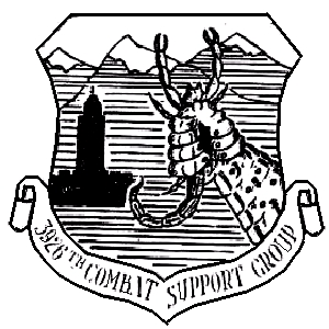 English: 3926th Combat Support Group Insignia