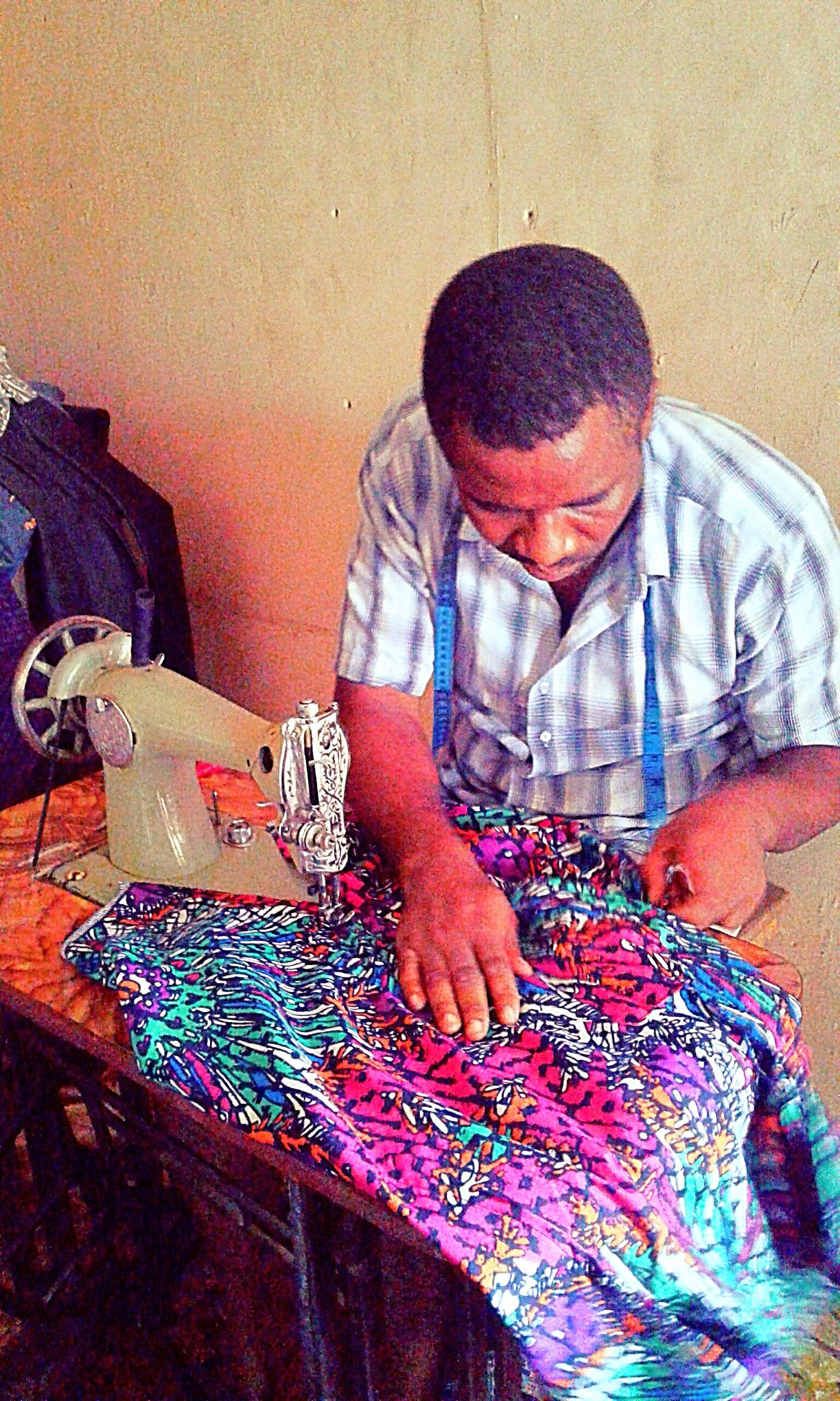 File A Nigerian Fashion Designer Jpg Wikimedia Commons