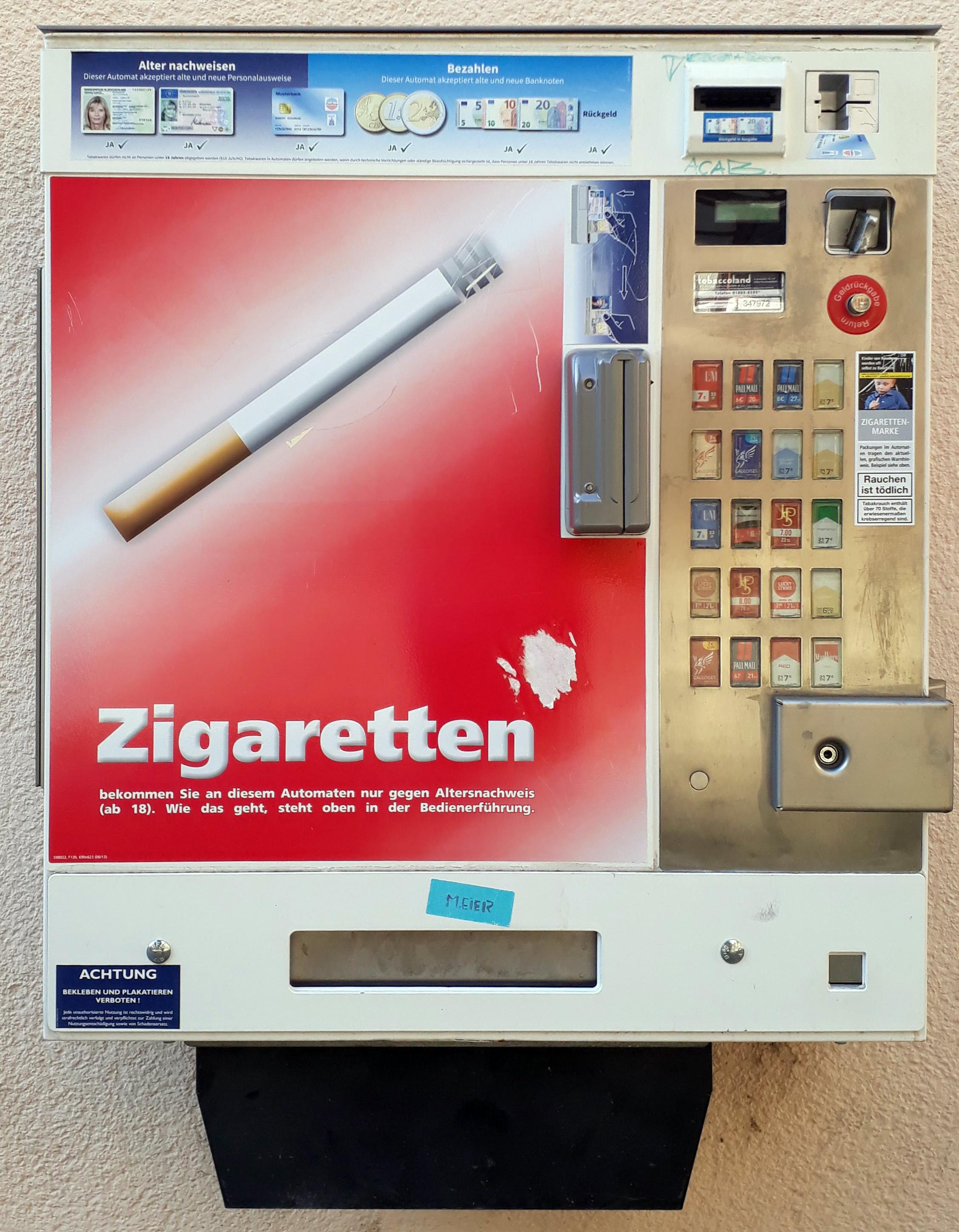 Machine à cigarettes-Wikipédia