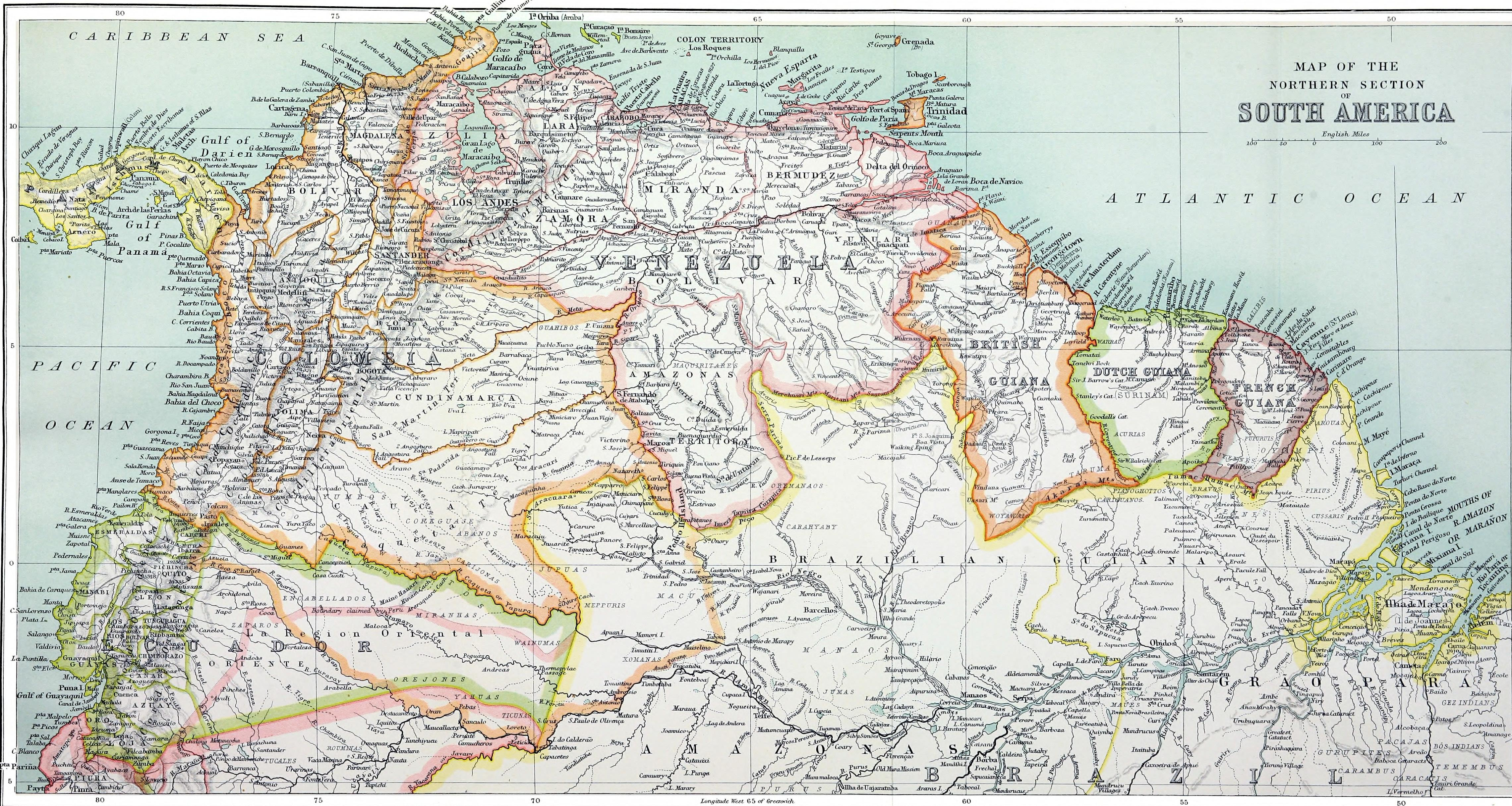 filea history of south america 18541904 1905