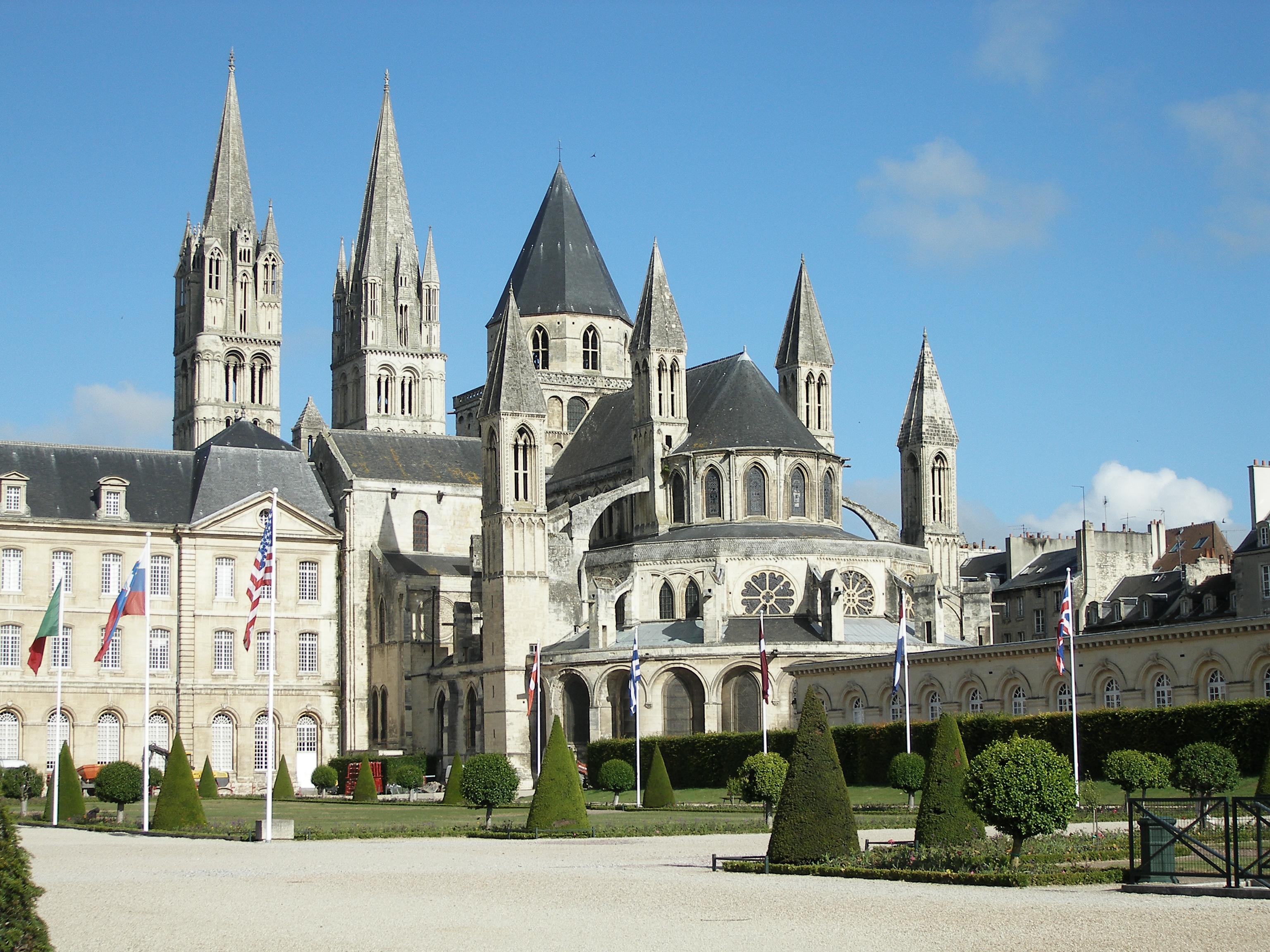 St-Étienne de Caen – Wikipedia