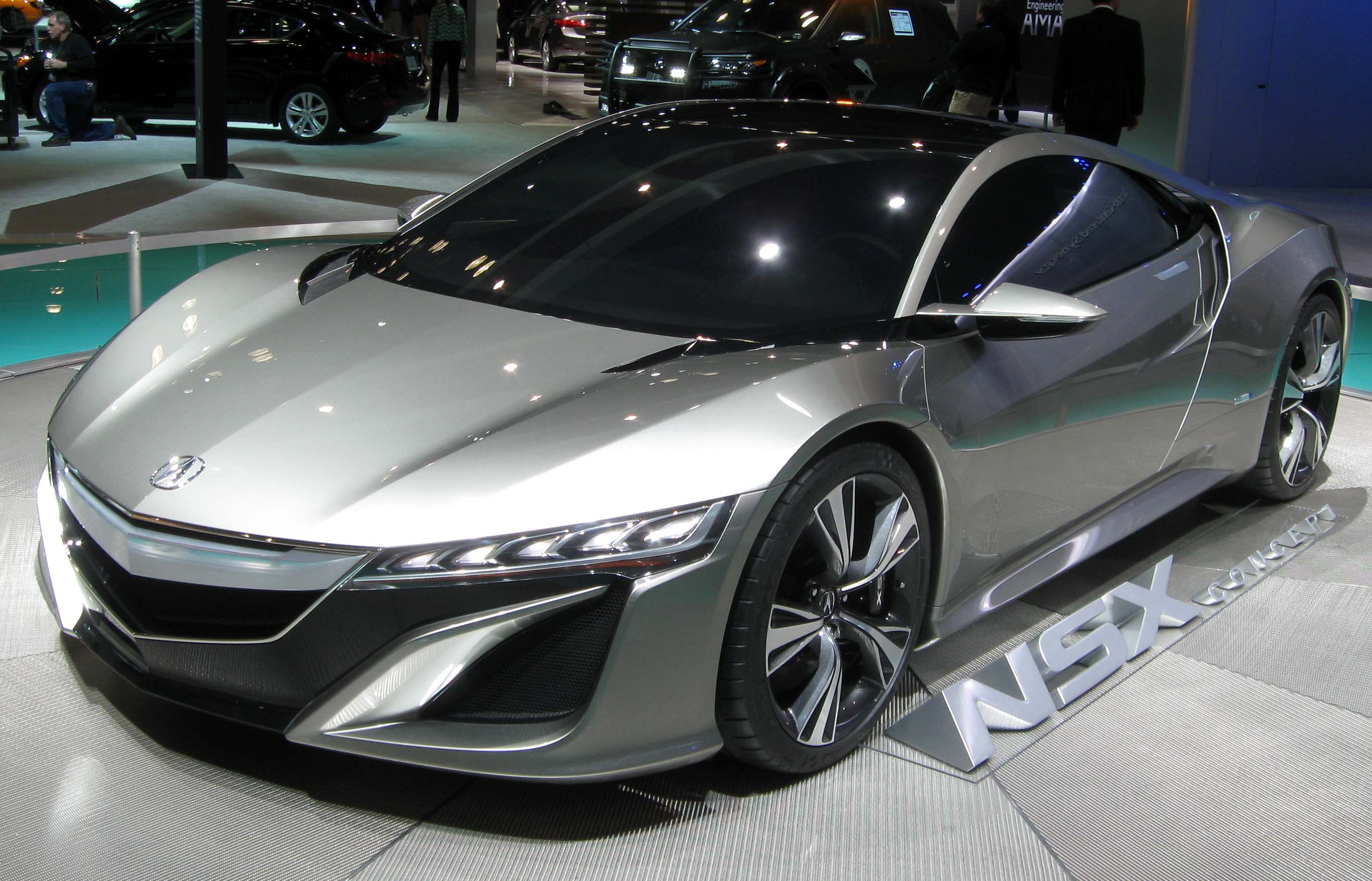 Perfect FileAcura NSX Concept  2012 NYIASJPG  Wikimedia Commons