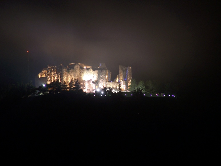 Ajlun_Castle_Night