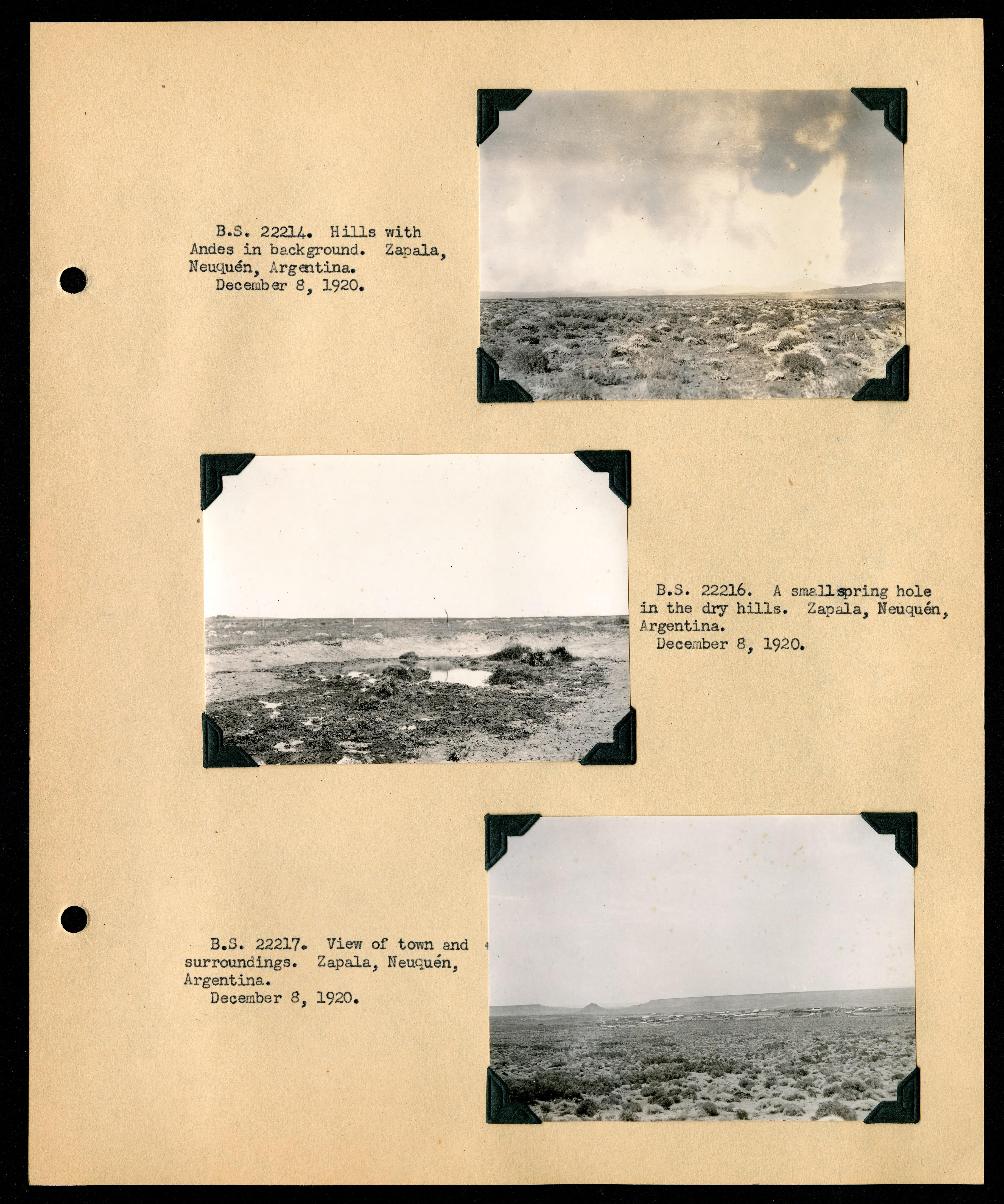 File:Album 1 Uruguay, Argentina, Chile, and Peru, 1920-1921