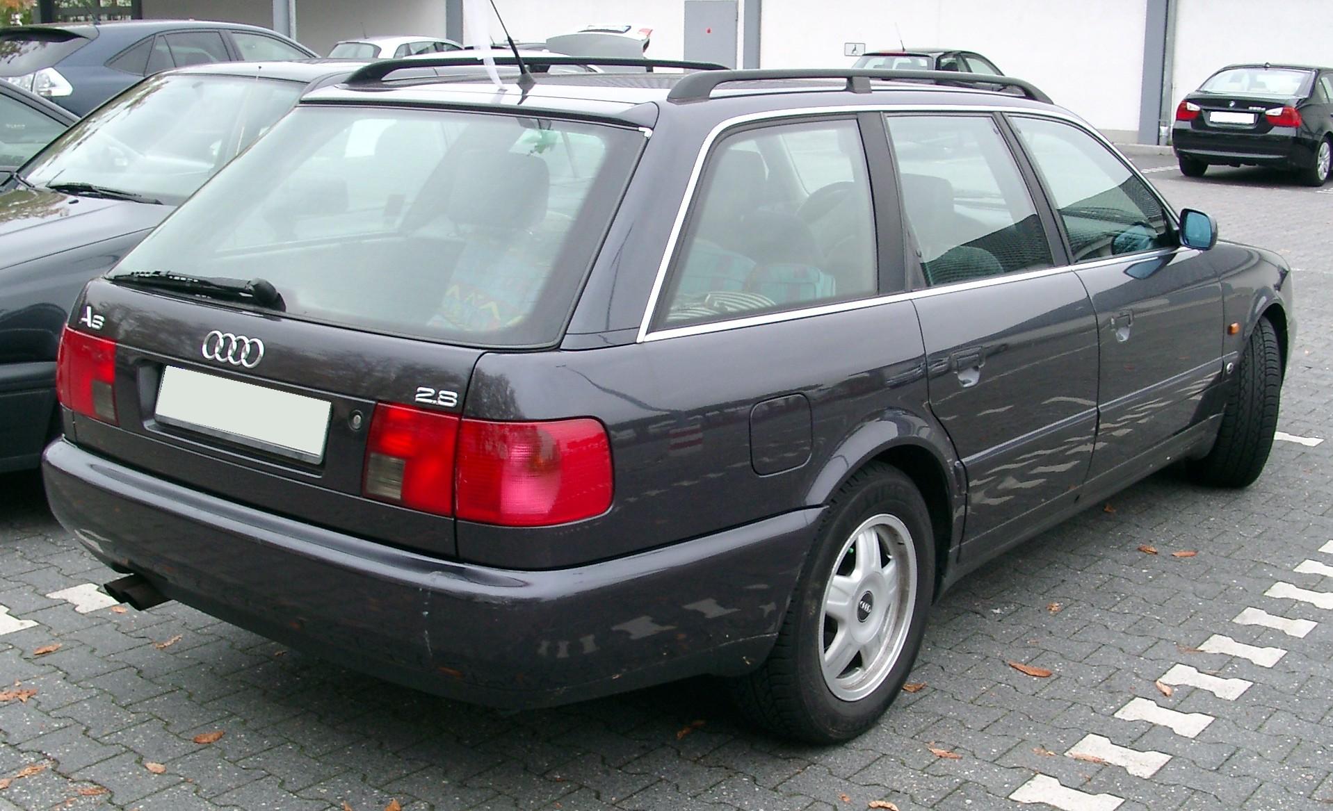 Archivo:Audi A6 C4 Avant rear 20071002.jpg