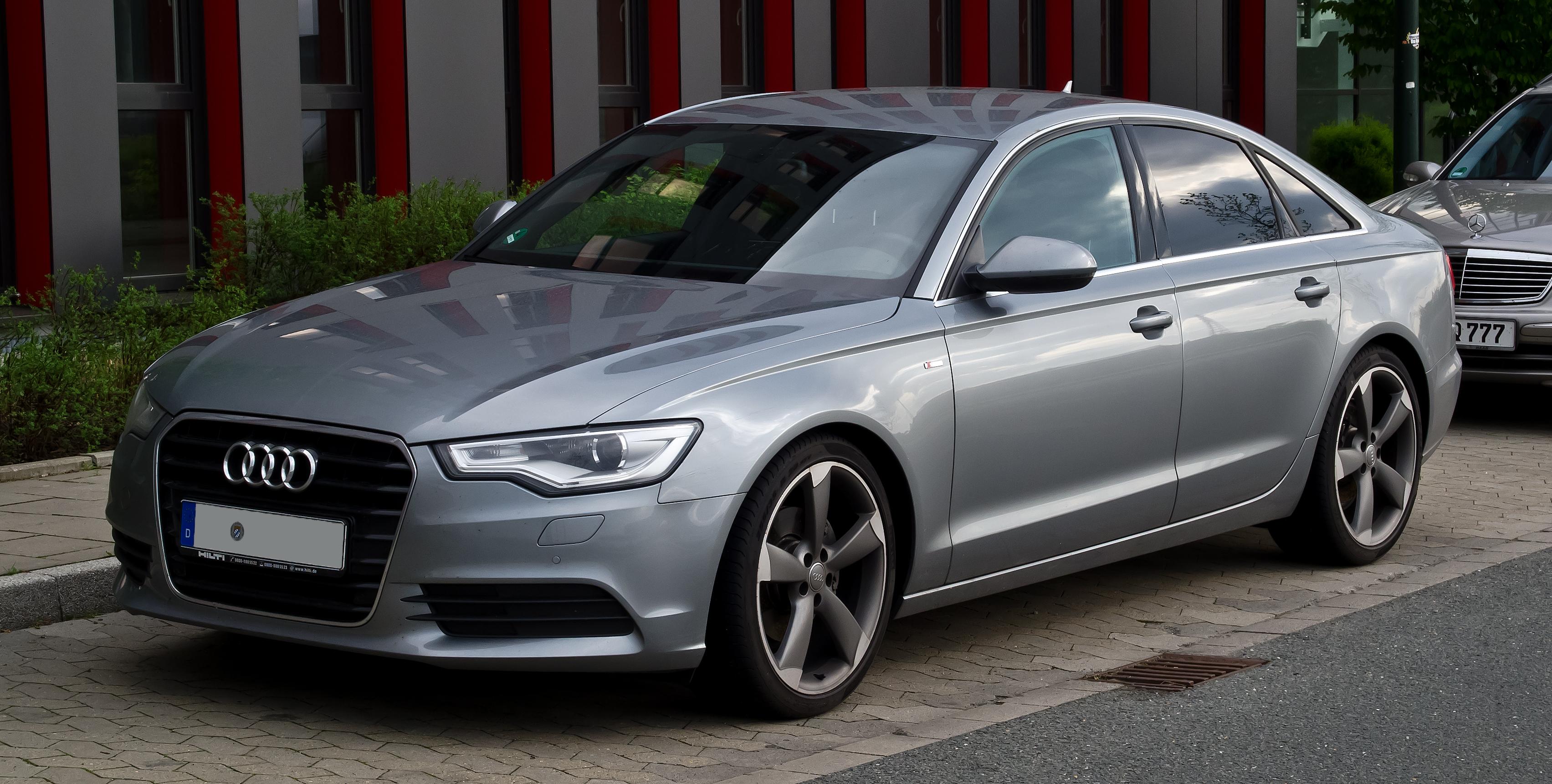 File Audi A6 S Line C7 Frontansicht 1 Mai 2012