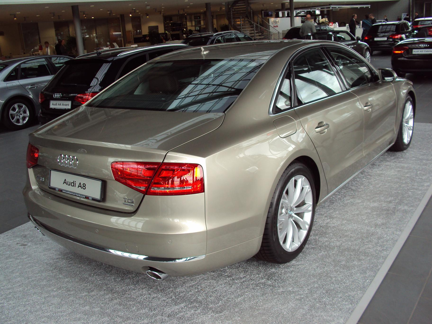 audi a8 long d4 4h facelift 2013 4 2 tdi clean. Black Bedroom Furniture Sets. Home Design Ideas