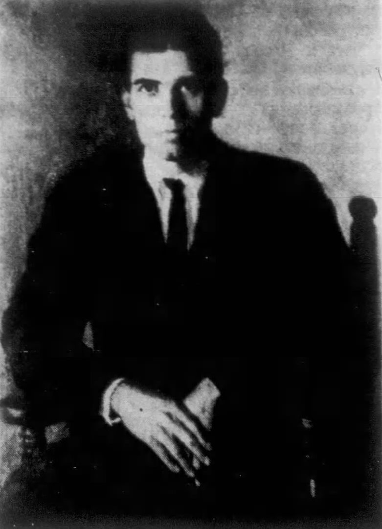Portrait of Riggs made in 1913