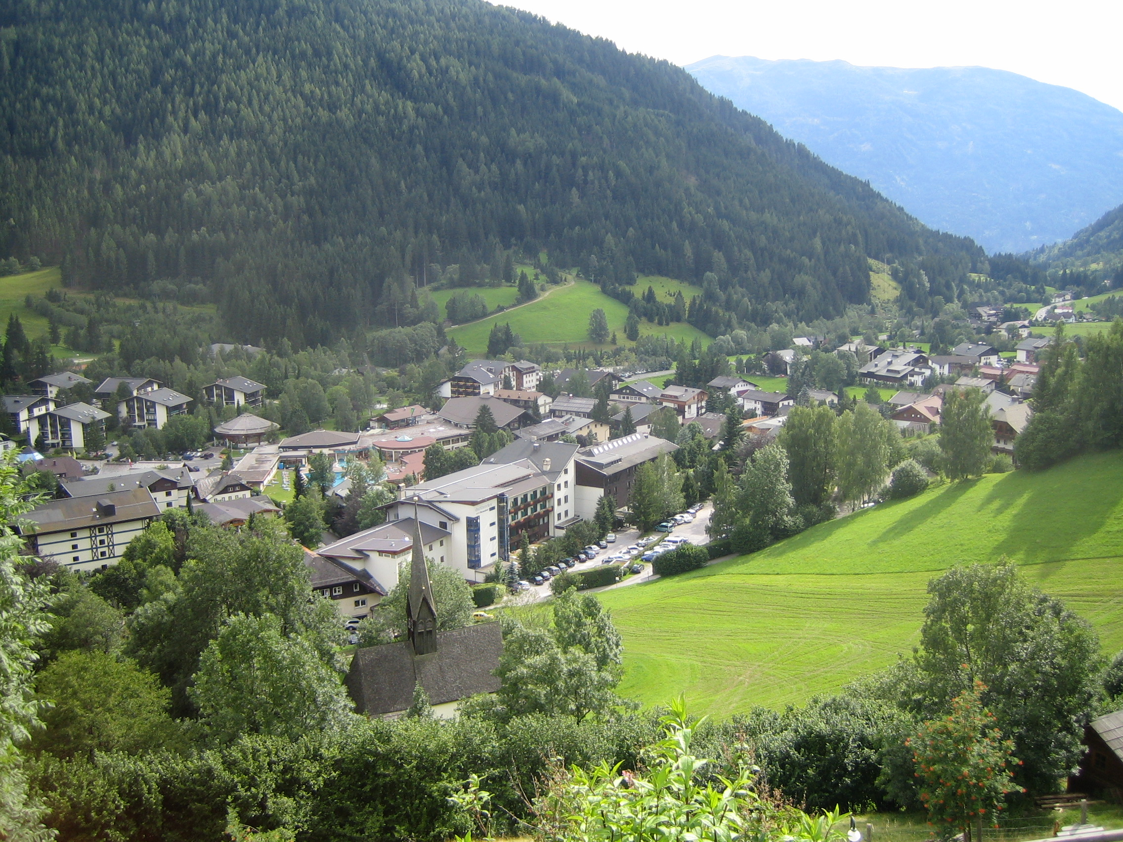 Bad Kleinkirchheim Austria  city photo : Bad kleinkirchheim Wikimedia Commons