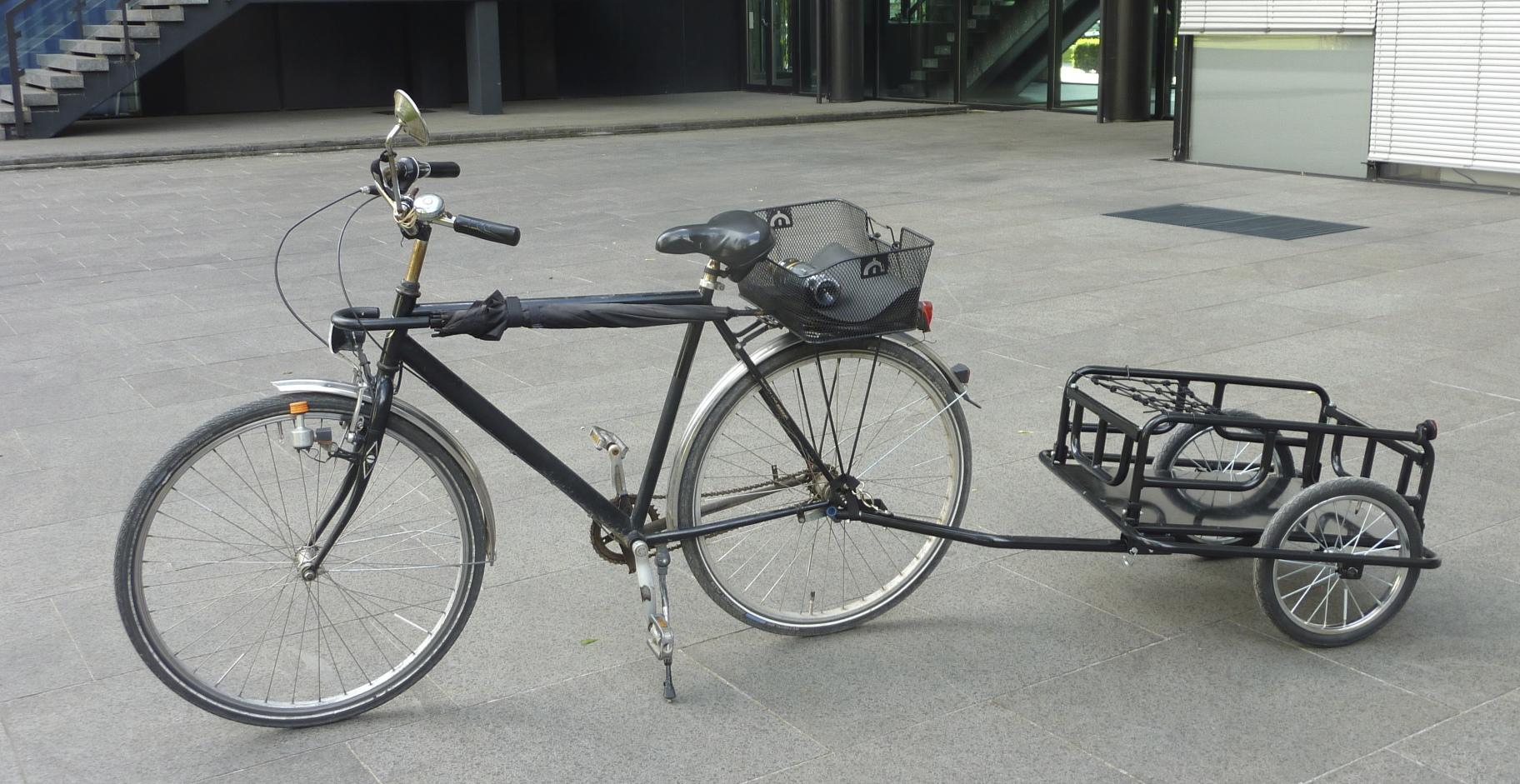 Fahrrad mit beiwagen selber bauen