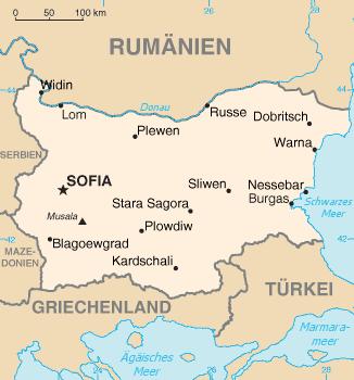 Liste Der Stadte In Bulgarien Wikipedia