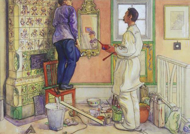 Raumausstatter wappen  Maler und Lackierer – Wikipedia