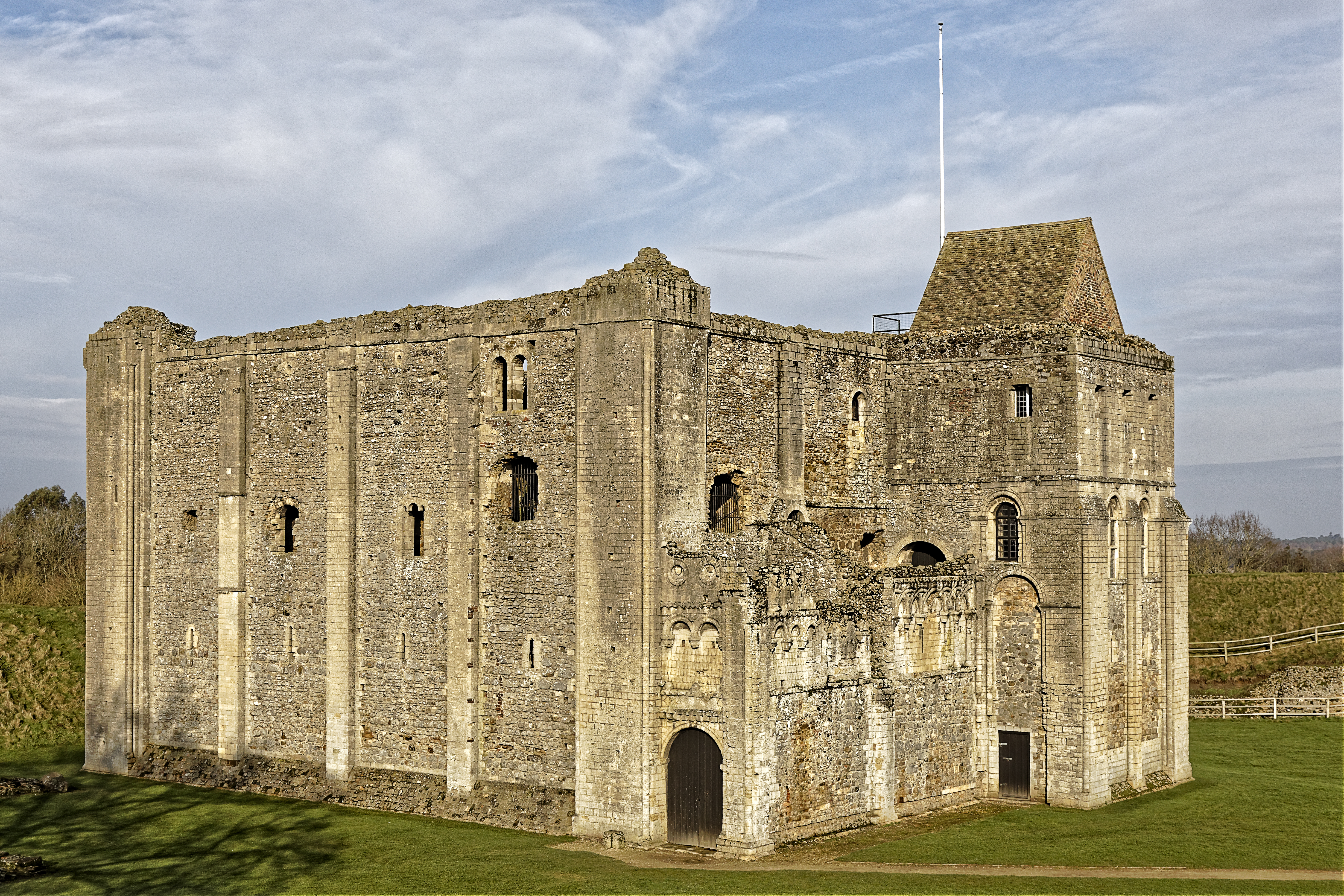 Ruined castle dating from 1215