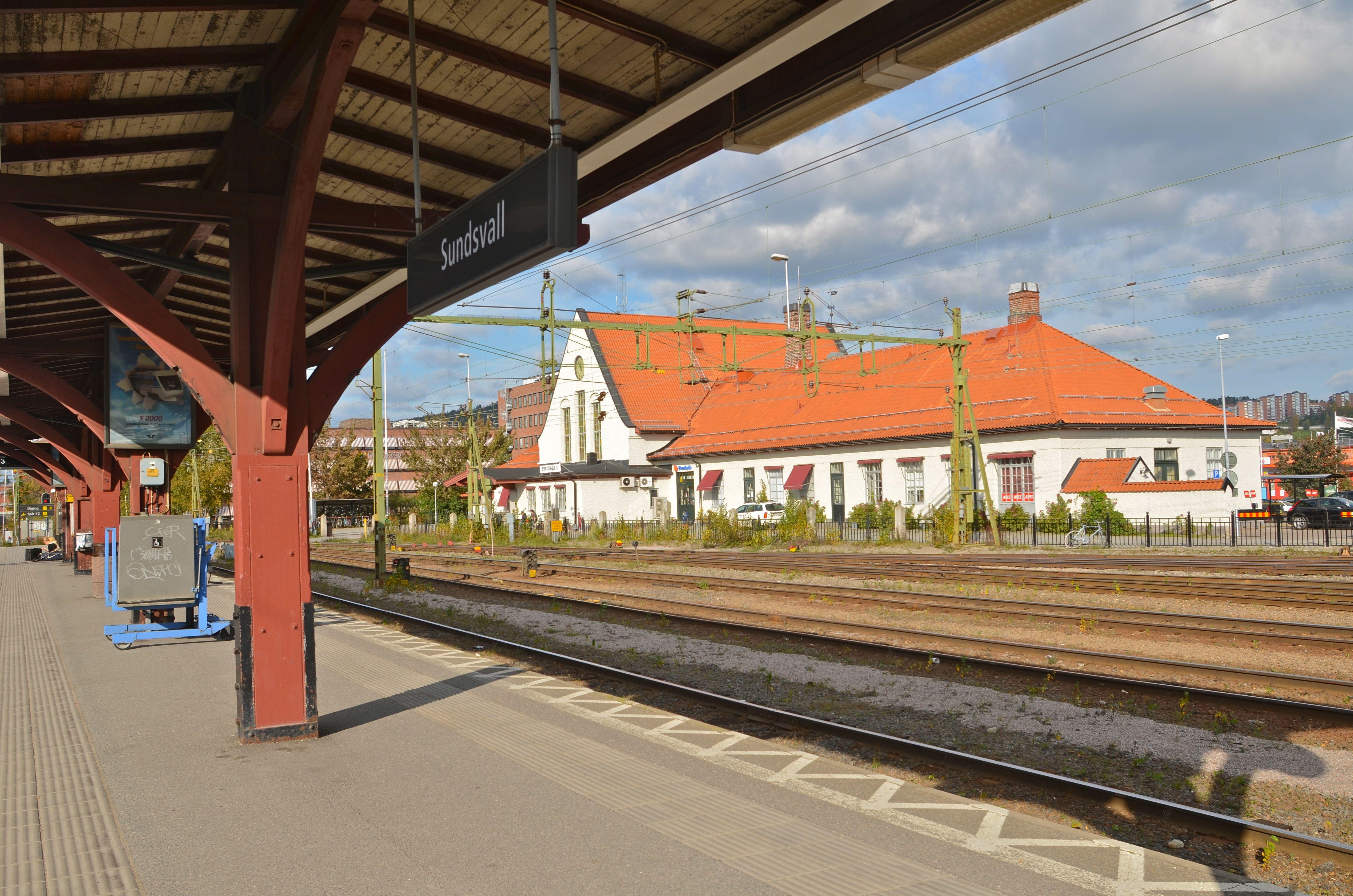 Karta Sundsvall Centralstation.Sundsvalls Centralstation Wikipedia