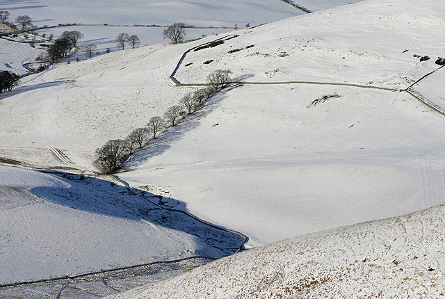 File:Cheviot Hill farmland at Shotton Hill - geograph.org.uk - 1636983.jpg