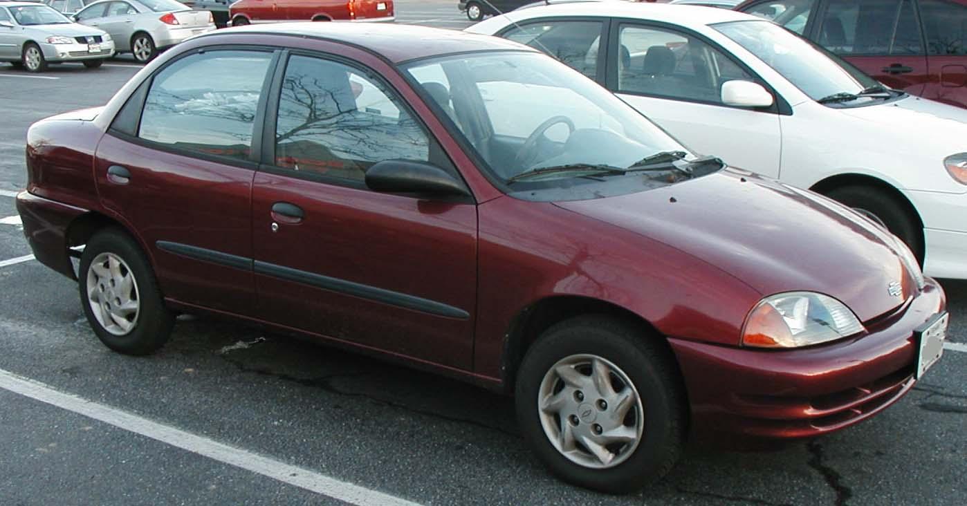 All Chevy 1998 chevy metro : File:Chevrolet-Metro-sedan.jpg - Wikimedia Commons