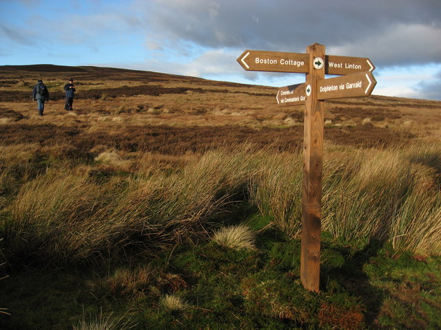 file crossroads with signpost geograph org uk 309427 jpg