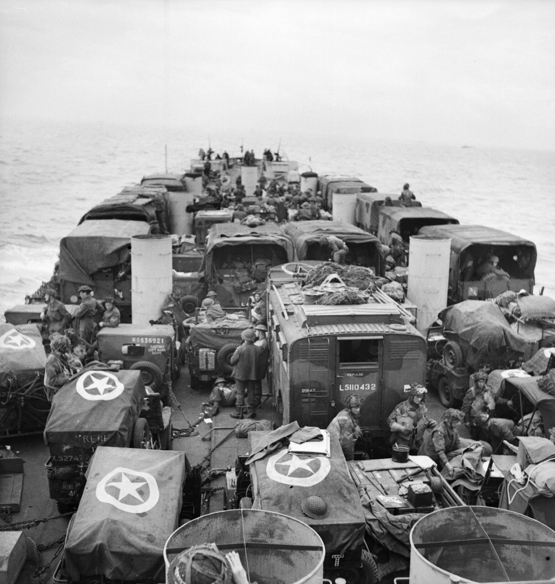 a history of the d day an invasion of normandy on june 6 1944 American soldiers and supplies arrive on the shore of the french coast of german-occupied normandy during the allied d-day invasion on june 6, 1944 in world war ii  at normandy, france, june 6 .