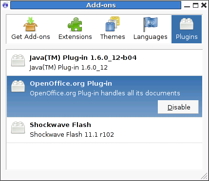 File:D Iceweasel3 0 plugins png - Wikimedia Commons